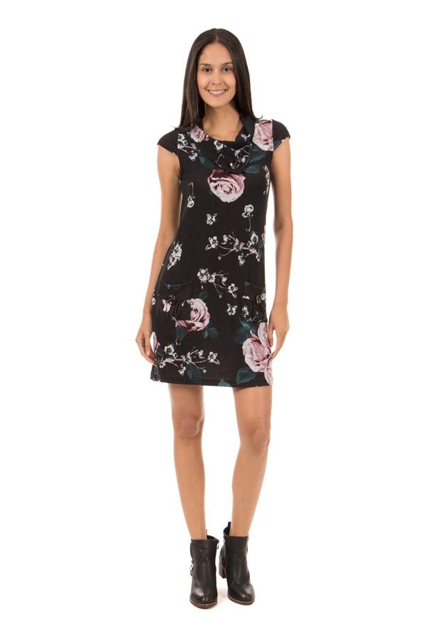 Floral Knit Dress