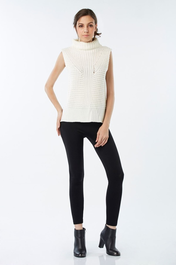 Roll-Neck Jumper Top