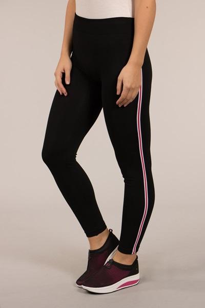 Stripe trim Leggings