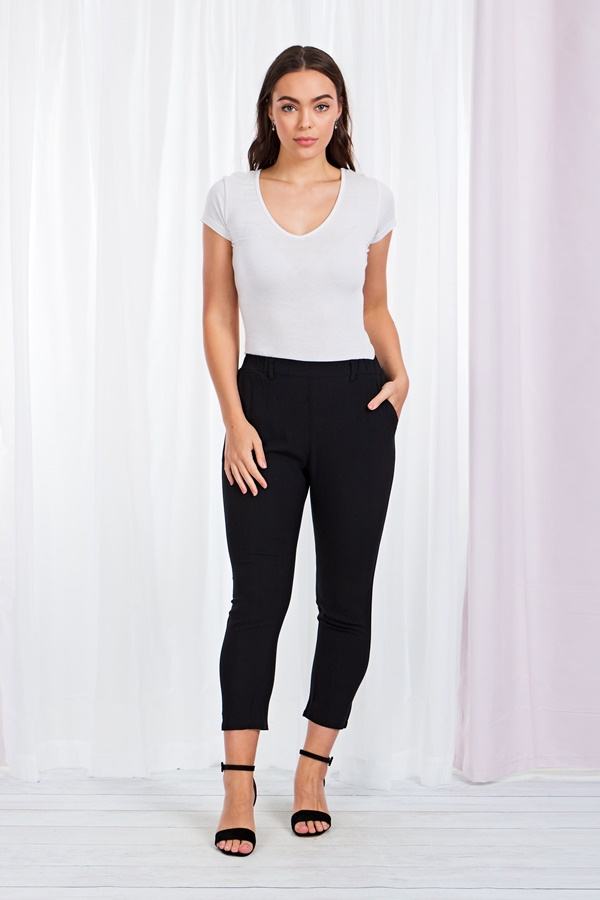 Slim Leg Crop pants