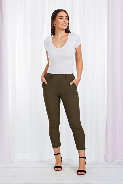 Slim Leg Crop pants