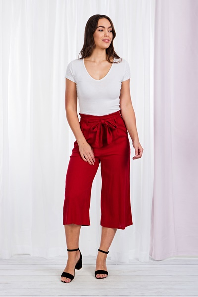 BASIC SOLID CULOTTES