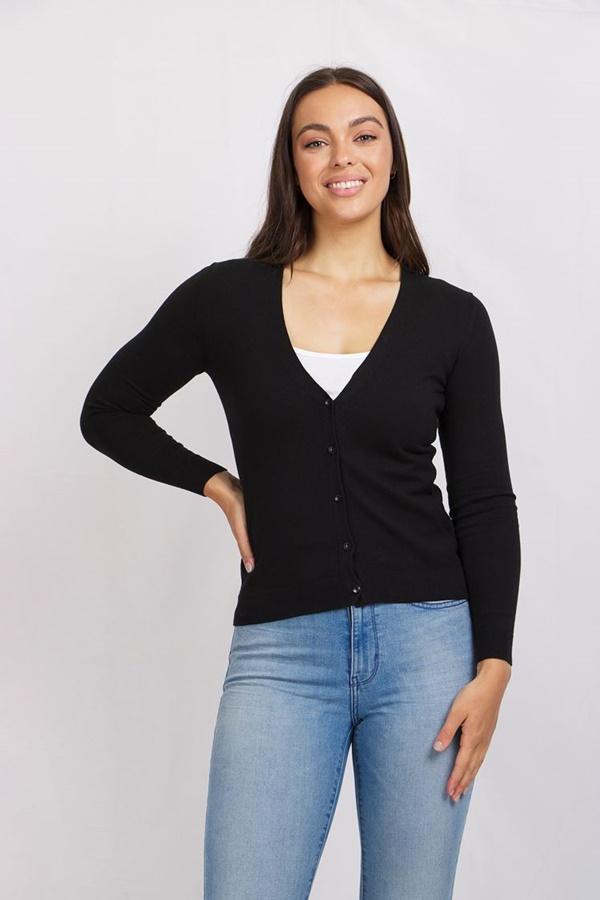 Basic Knit Cardigan