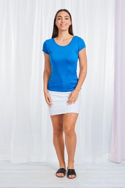 Basic Shirt Sleeve Top