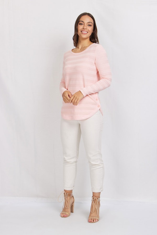 Button Detailed Pullover