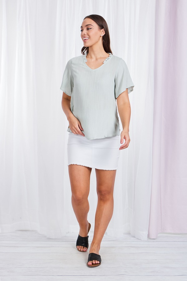 Button Side Top