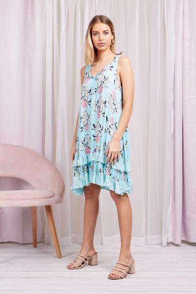 Crinkled Sun Dress