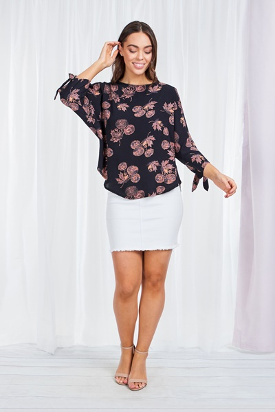 DANDELION COLD SHOULDER TOP