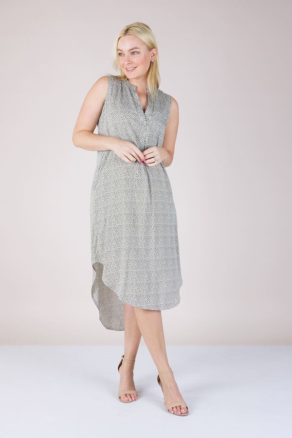 DITSY PRINT TUNIC DRESS