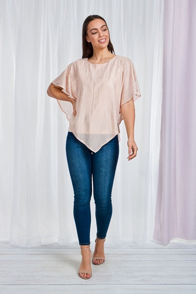 Double Layer Sheer Top