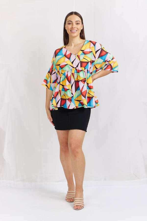 Multi Coloured Swing Top
