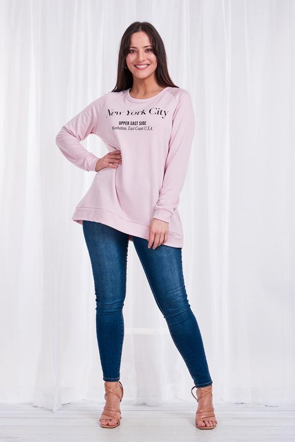 New york City Slogan Sweater