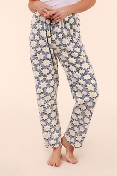Printed Plush Pants