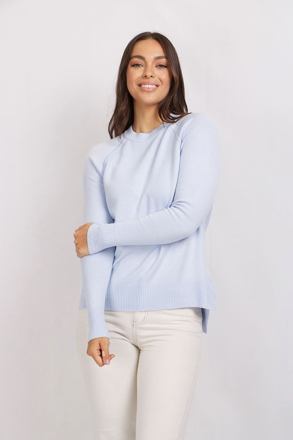 RAGLAN SLEEVE JUMPER