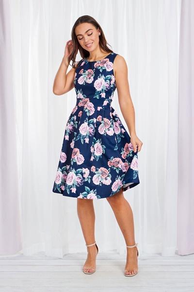 Rose Vintage Dress