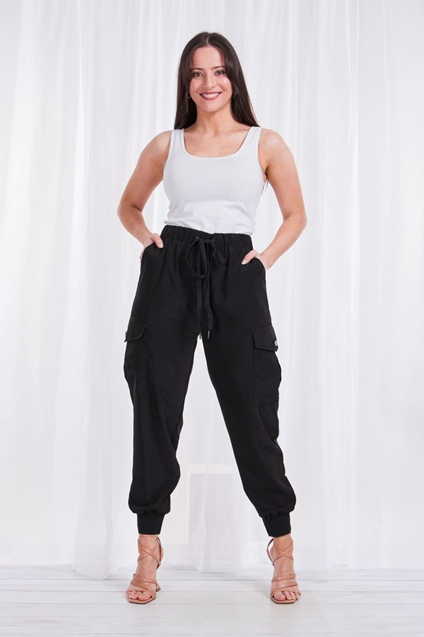 Soft feel utility pants