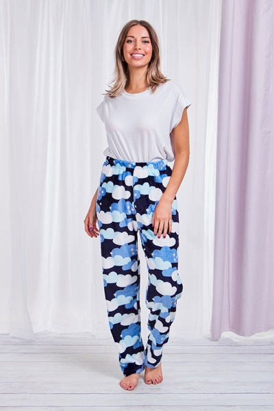Star Plush Pants