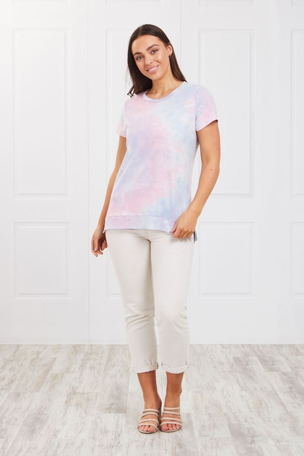 TIE-DYE BASIC TOP
