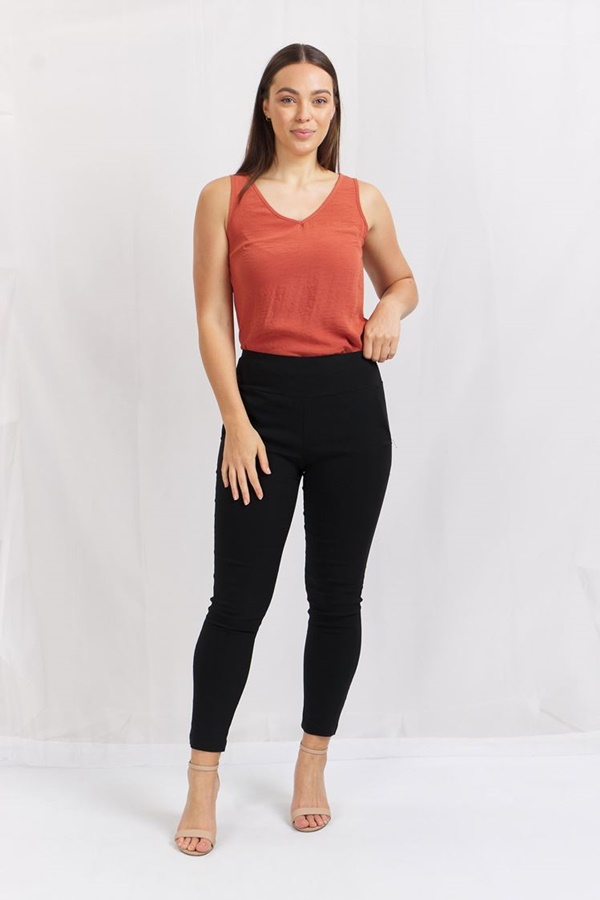 Wide waistband Pant